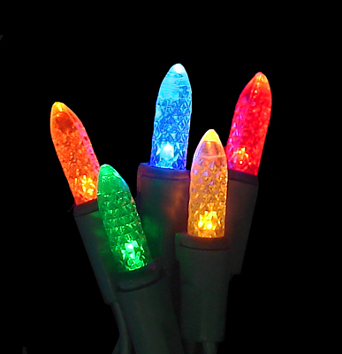 LED C3 Multi-Color Mini Christmas Lights